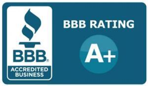 better business bureau accredited business with A+ rating